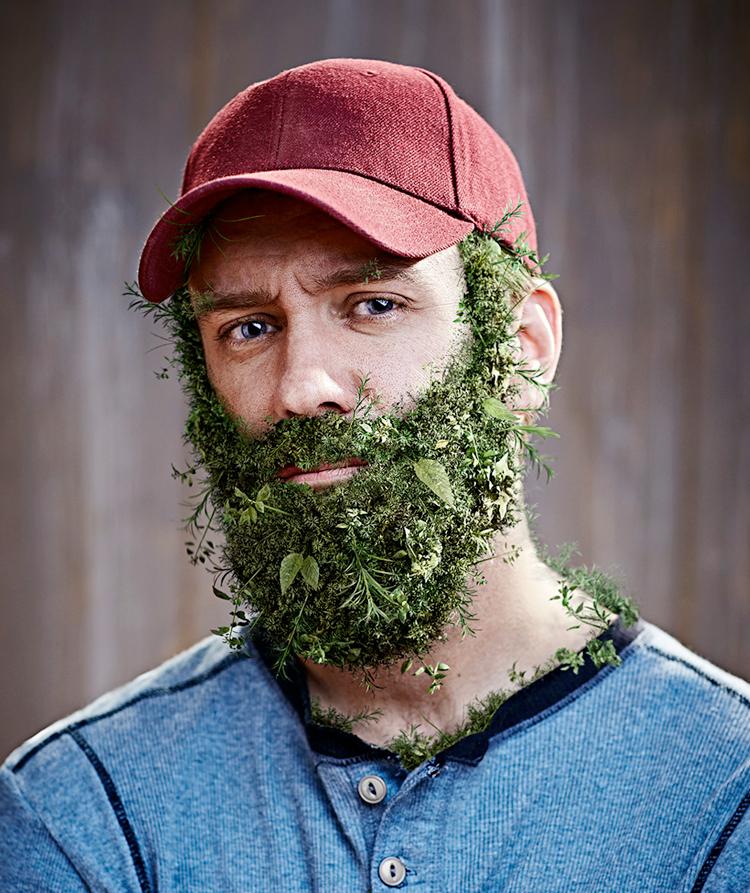 ArtSpeak: Brandon Vogues Weed Beard