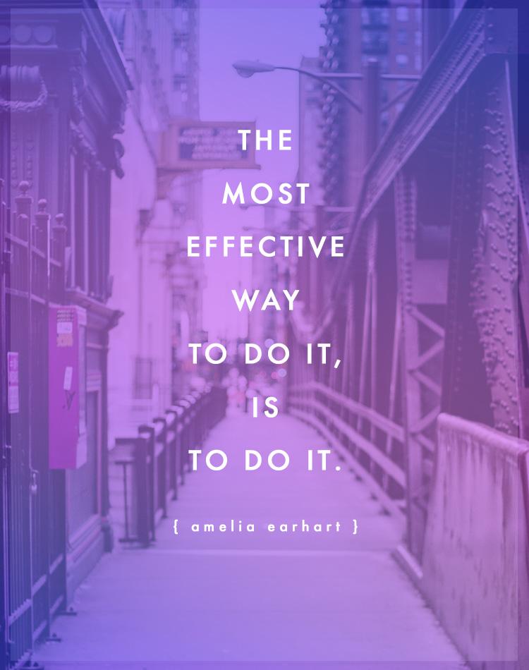 Quote: Amelia Earhart
