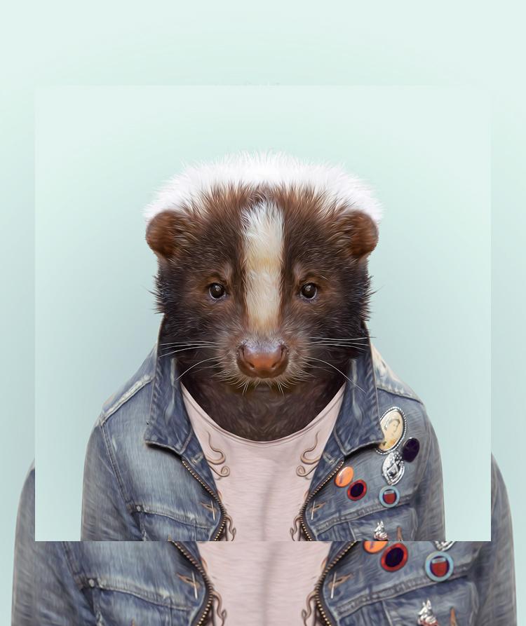 Yago Partal's Zoo Portraits
