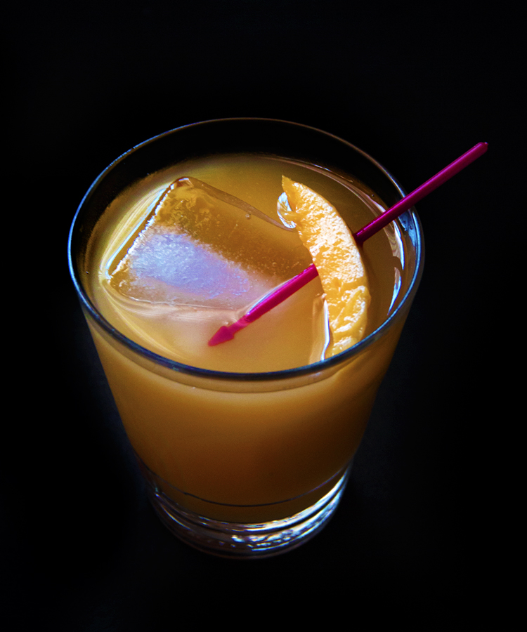 #HappyHourClub Mango Jalapeno Smash
