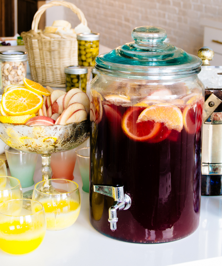 Diane Lindquist's Sangria for #happyhourclub