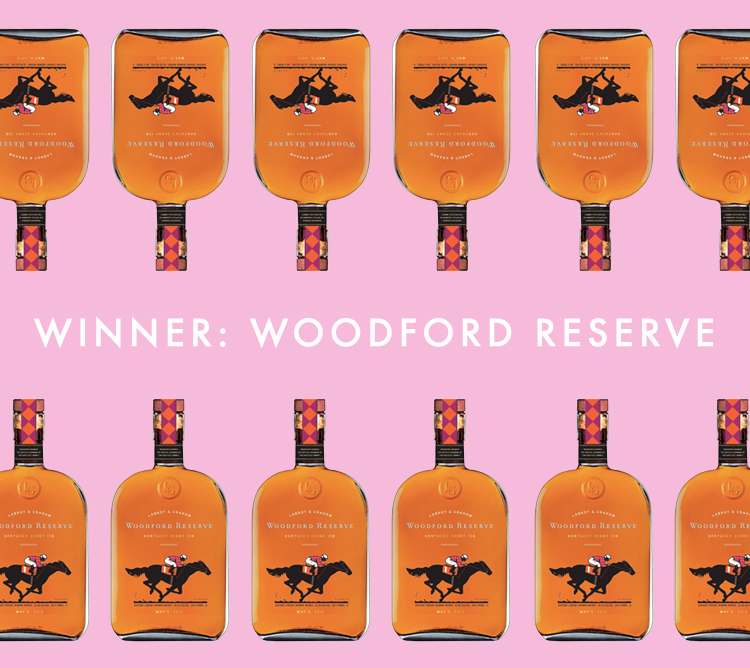 Overall Winner and favorite: Woodford Reserve