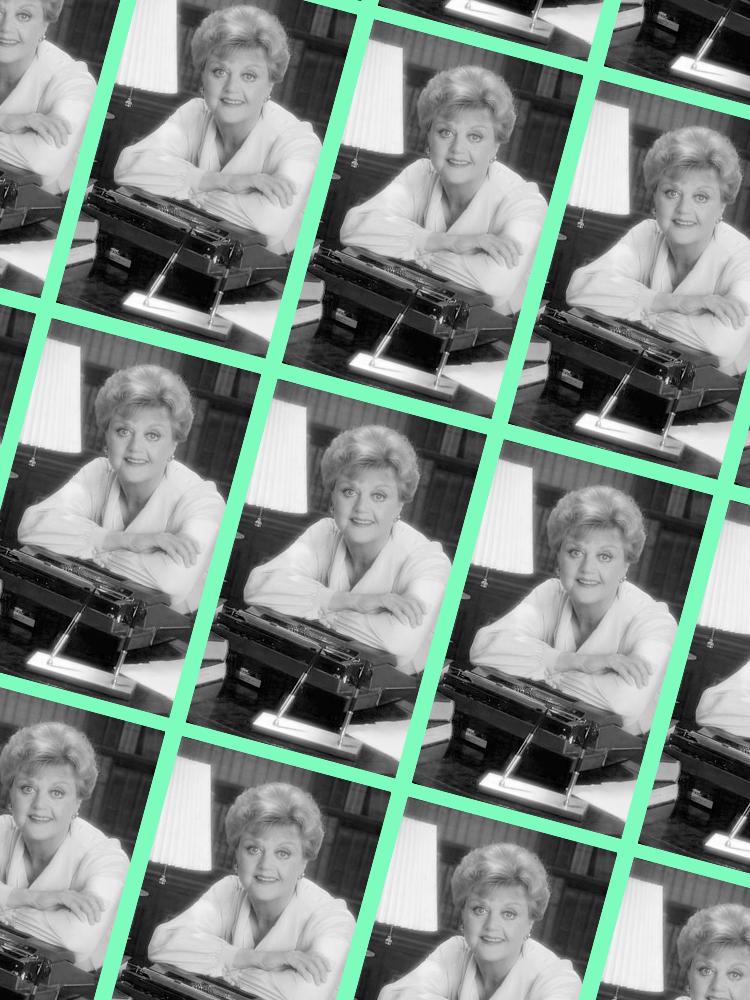Angela Lansbury + Murder, She Wrote