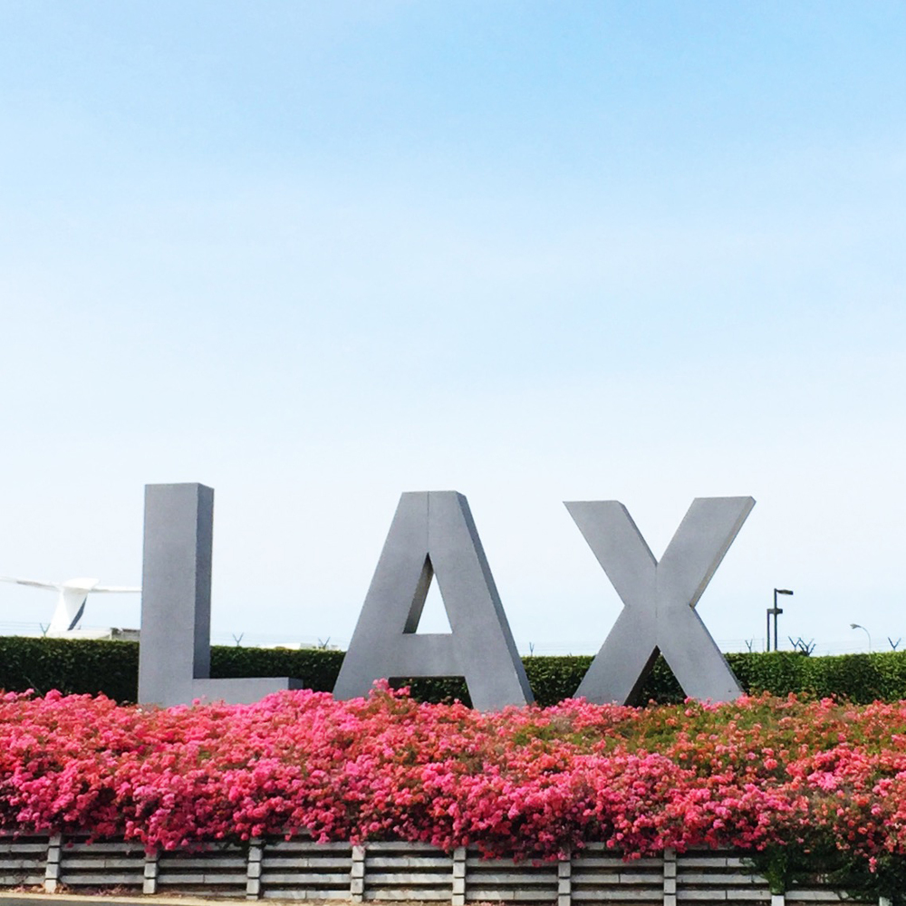 Hello LA LA Land and LAX
