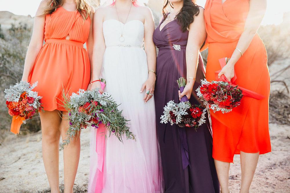 Wedding Flowers (Bride + Bridal Party) / Joshua Tree, CA