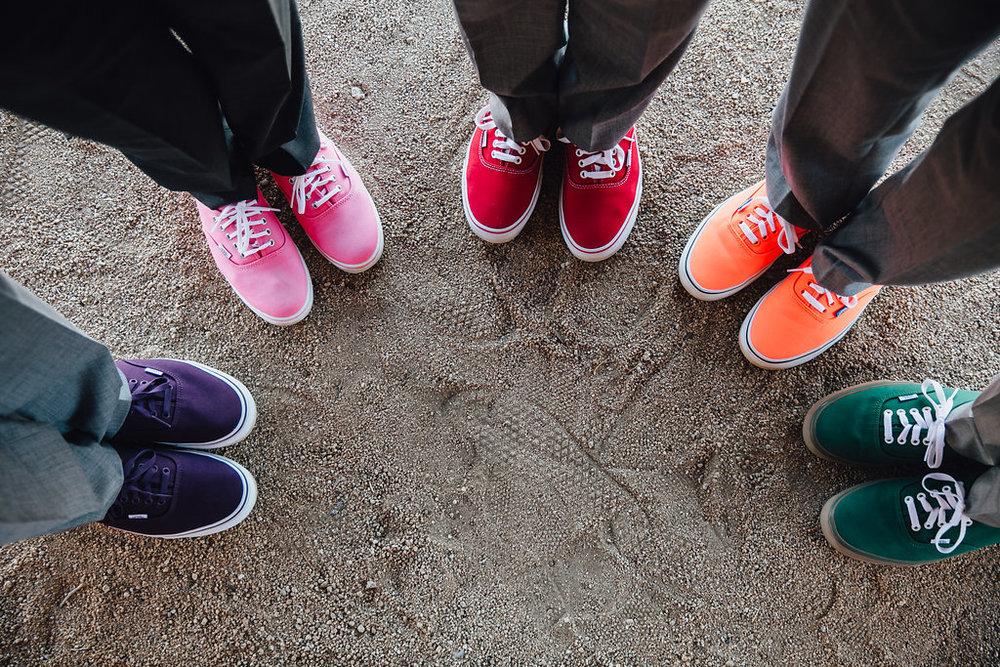Groom + Groomsmen Shoes (Vans)