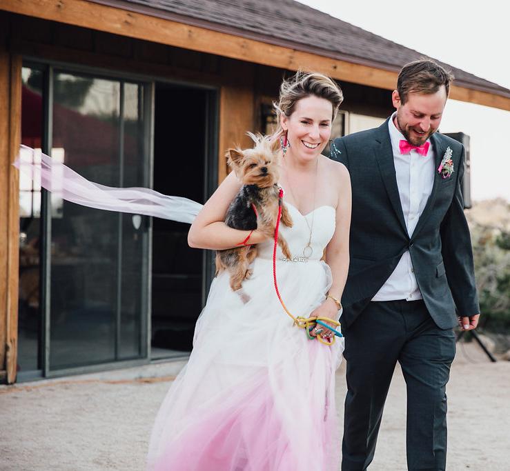 Found My Animal Leash / Joshua Tree Wedding