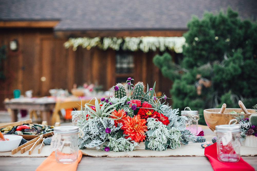 Table Setting / Joshua Tree Wedding