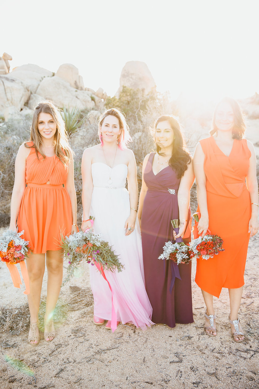 Bridal Party / Joshua Tree Wedding