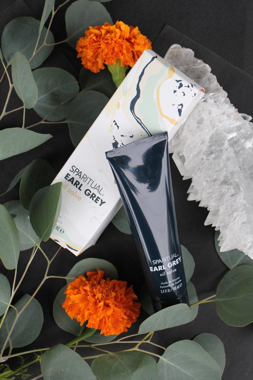 SpaRitual Earl Grey Packaging Design