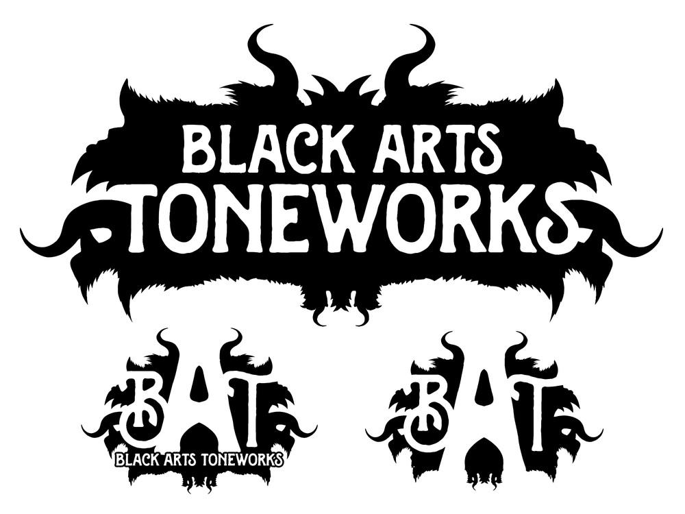 Black Arts Toneworks 2015 logo and badges