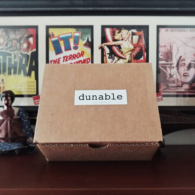 I worked on a thing with my bud @dunable_guitars. I love the design I did for what's inside this box. Stay tuned. 🖌️