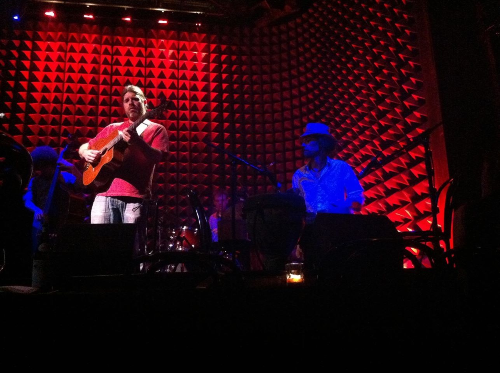 With Dave Speranza, Stephane Wrembel, Nick Anderson @ Joe's Pub NYC