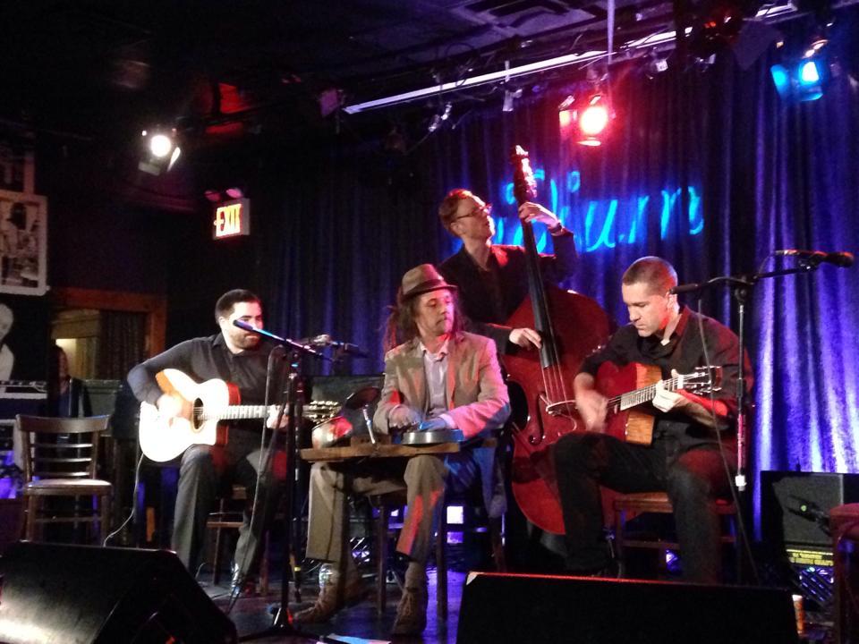 Rob Cuellari, David Langlois, Ian Riggs and Tim Clement
