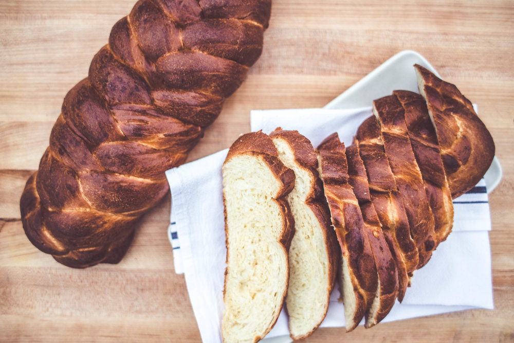 Challah Bread - $10  | A special holiday braided loaf   Contains eggs, milk, and gluten