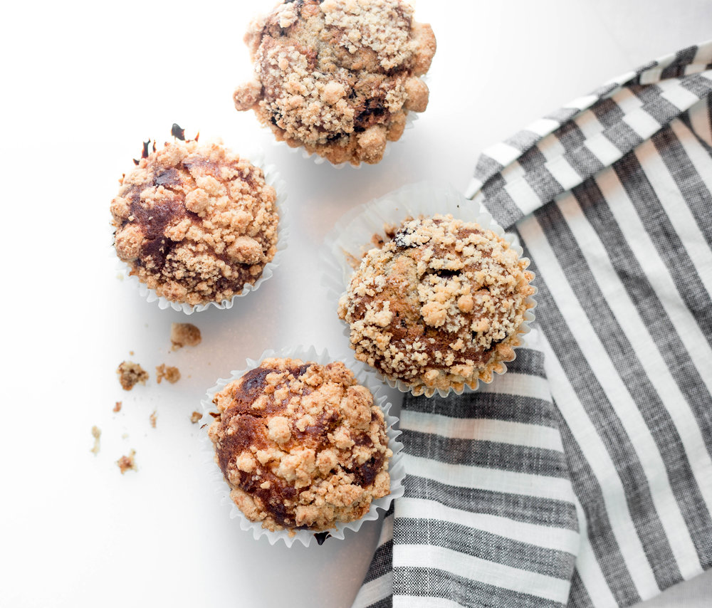 Fresh Baked Full Size Breakfast Banana Muffins