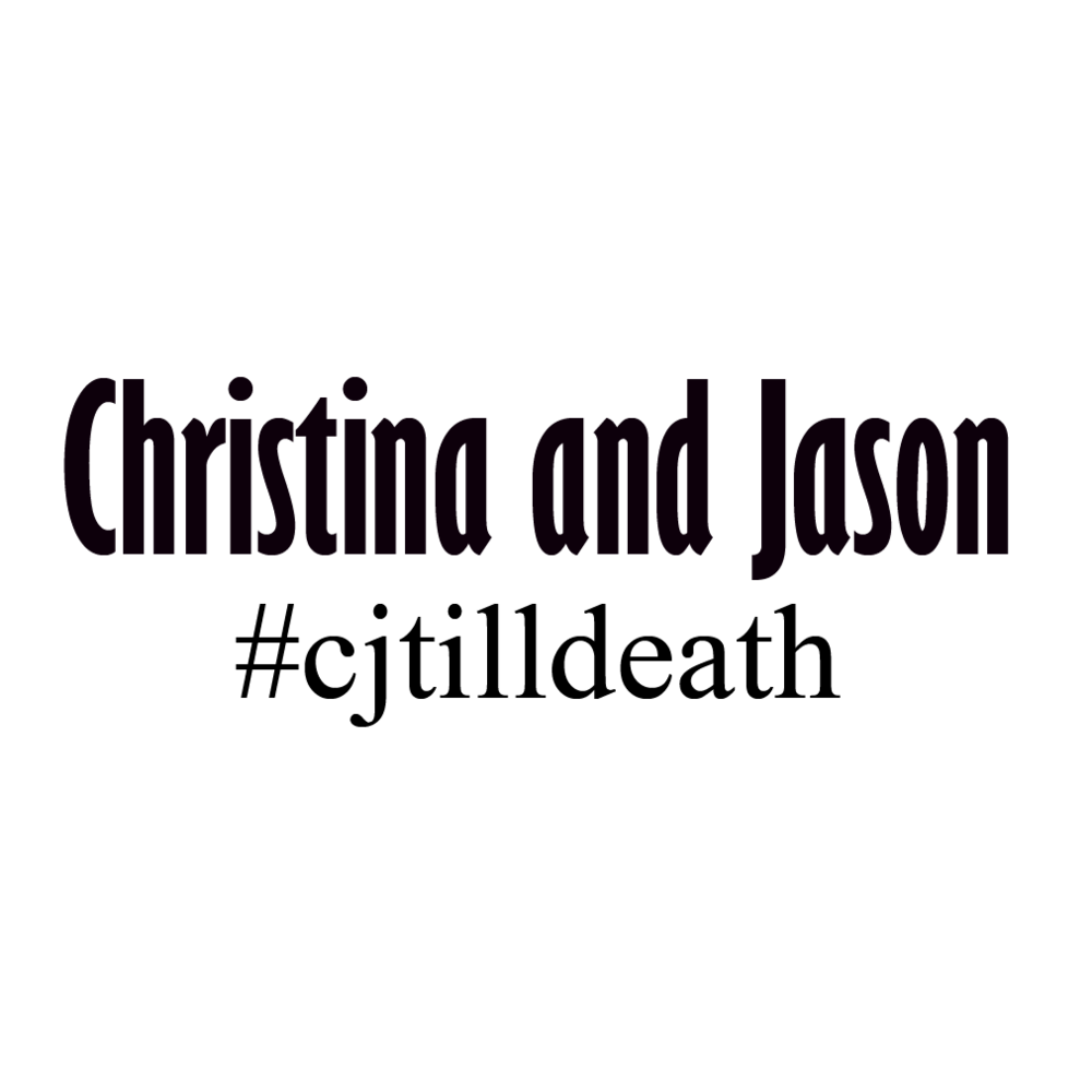 Copy of Christina and Jason