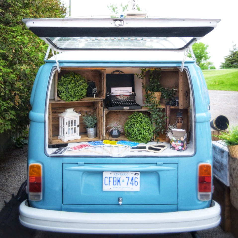 Snaptique VW Bus Photo Booth