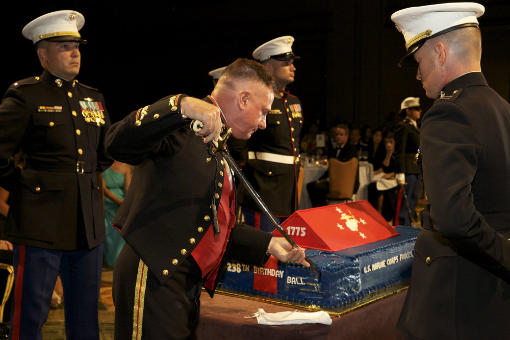 The_Commander_of_U.S._Marine_Corps_Forces_Pacific_(MARFORPAC),_Lt._Gen._Terry_G._Robling,_left,_cuts_the_first_slice_of_birthday_cake_with_a_Mameluke_sword_during_the_Marine_Corps_birthday_ball_hosted_131101-M-LU710-108.jpg