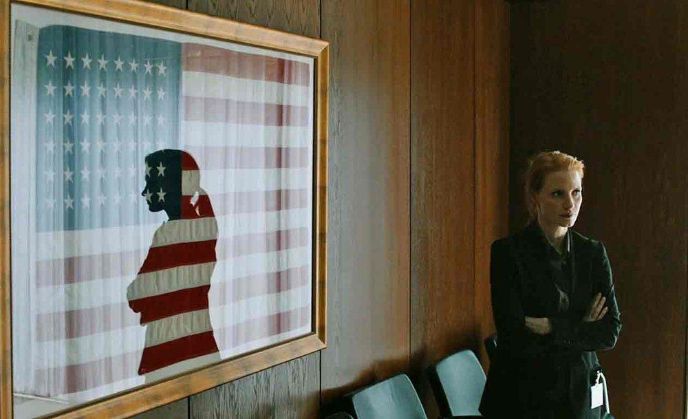 PHOTO: Artsy patriotism.