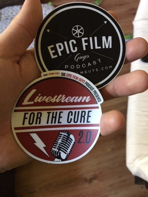 PHOTO: They sent stickers!