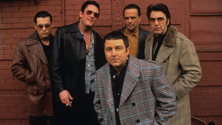 PHOTO: Candid shot of The Sopranos' stunt doubles.
