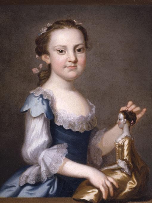 Elizabeth Randolph , 1755,John Wollaston