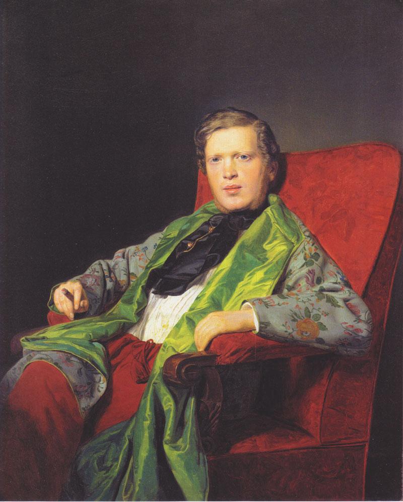 Emanuel Ritter von Neuwall , 1841  Ferdinand Georg Waldmüller