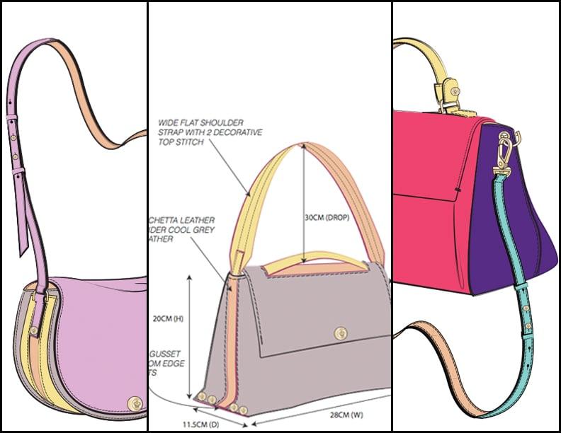 Femme De Cupcakes Concept Illustrations