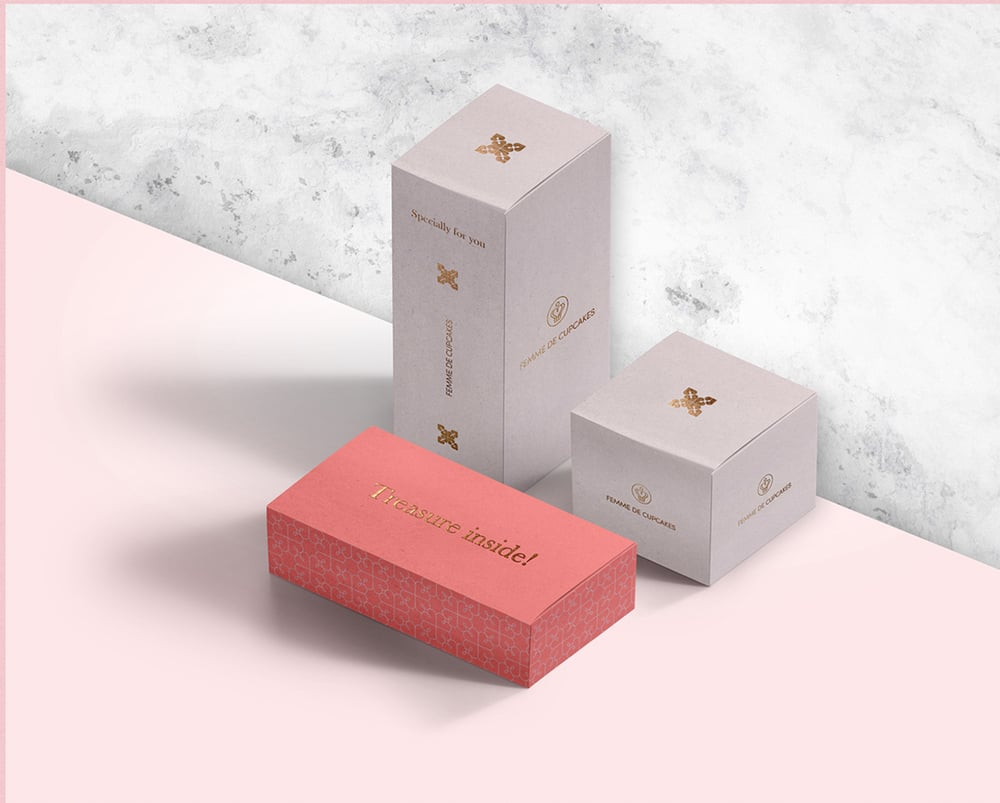 Femme De Cupcakes Packaging Design