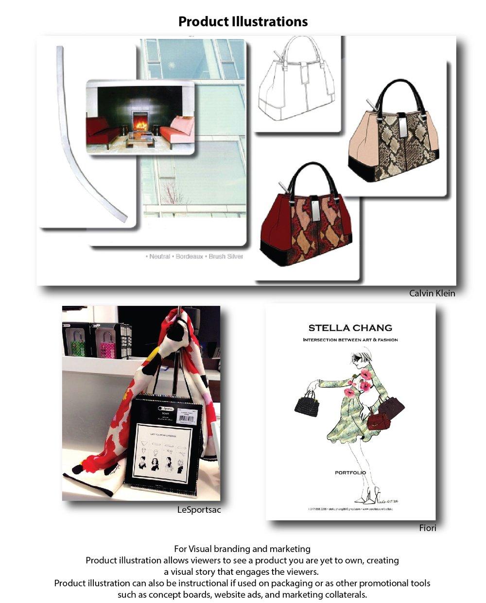 Product Concept Illustrations by ModaRévisé®