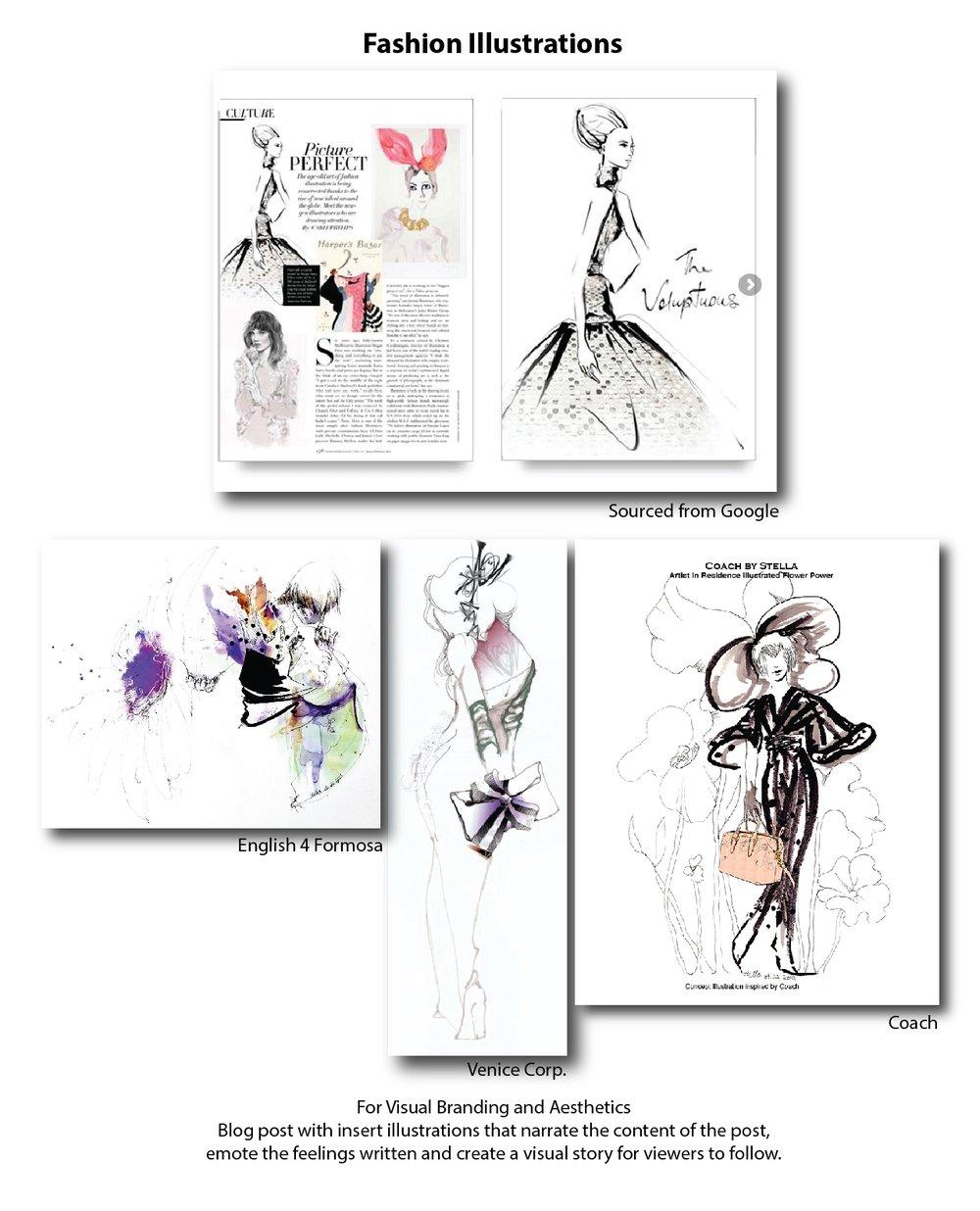 Fashion Illustrations by ModaRévisé®