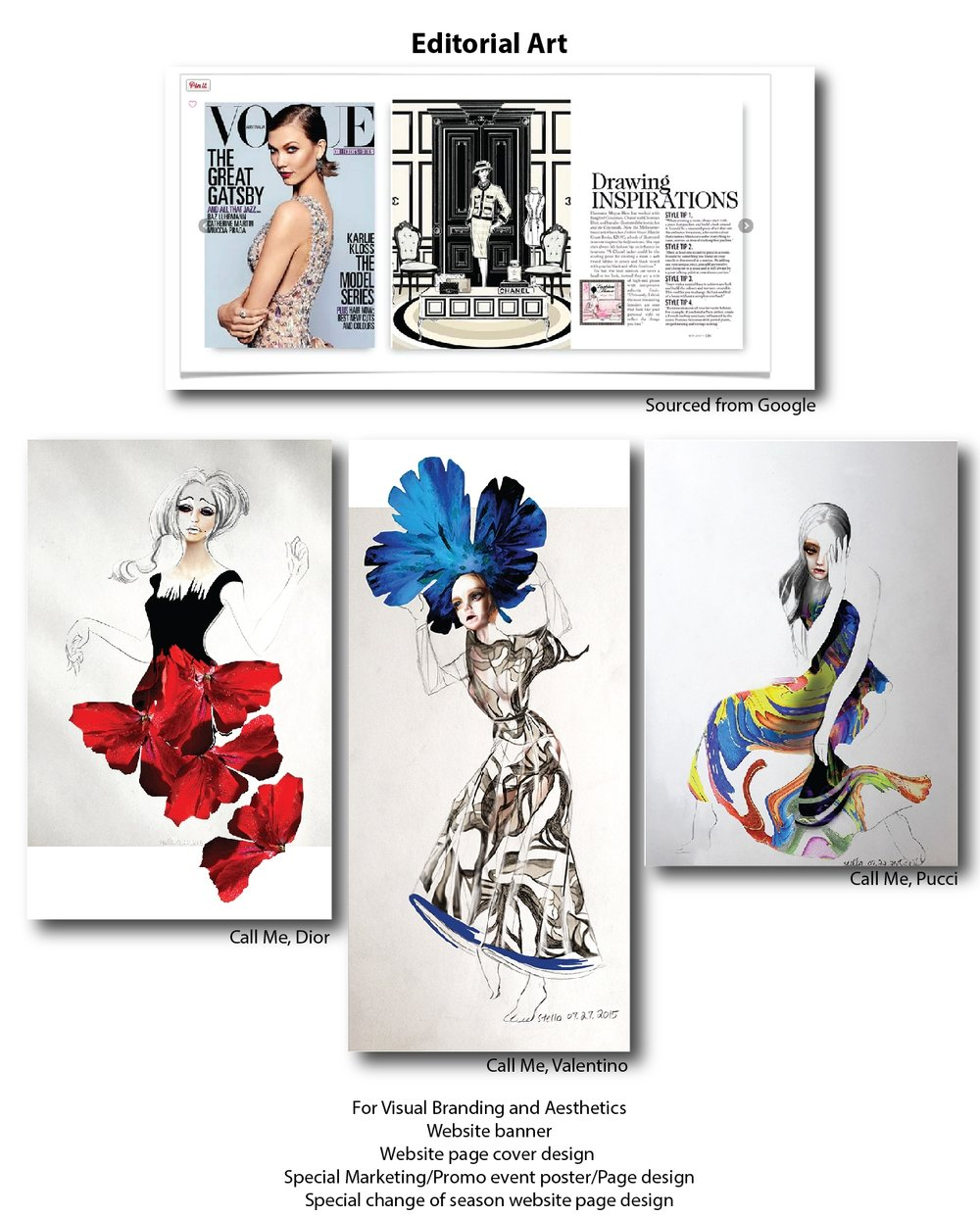 Editorial Art by ModaRévisé®