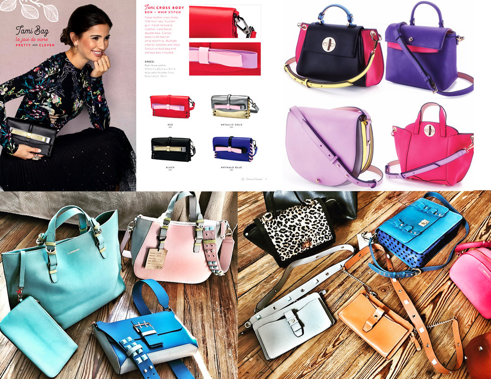 Featuring  F  emme De Cupcakes  &  J J Hermana  handbags and SLG. Designed by ModaRévisé®