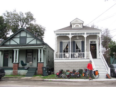 Danielle and Juan's house in New Orleans.