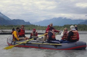 Down the Chilkat River with Paul