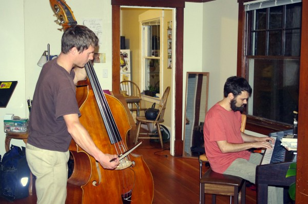 Stephon and Eric play an short improvisational piece