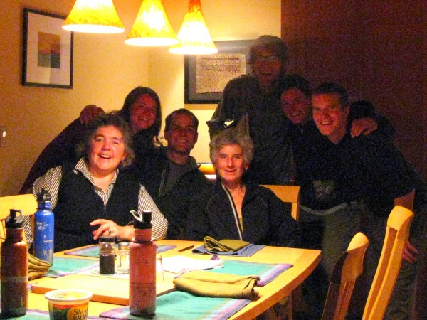 Jean, Dyanne, and the crew on Whidbey Island