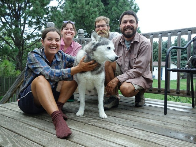 Thanks to Heather and Trenton for letting us stay (even when they weren't there). We had great fun dog sitting Kayla!