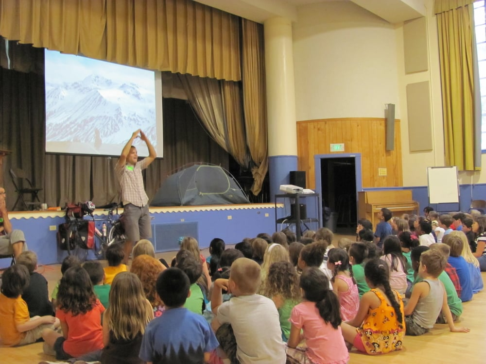 Classroom presentations give kids a chance to see the diversity of our Planet, the equipment needed for a long distance bike tour, and the amazing monarch migration.