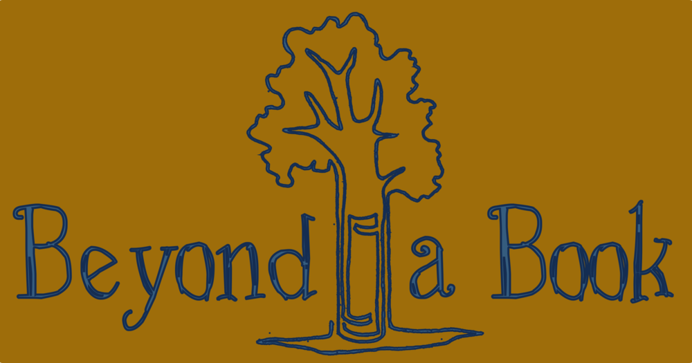 beyondabook words around tree blue on brown.png