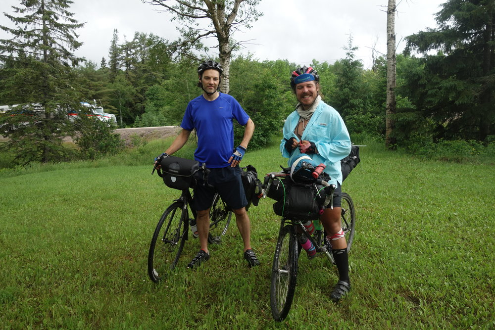 Ryan and Nick were two awesome cyclists on their own kind of ride.