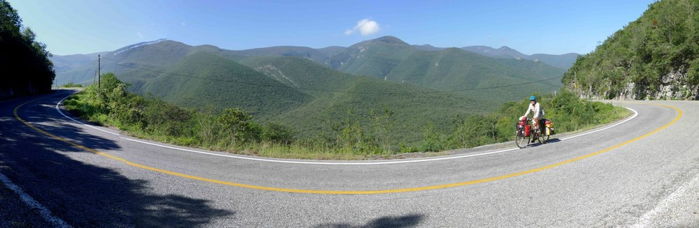 One of my favorite roads of the trip. Hundreds of more butterflies, more than views.