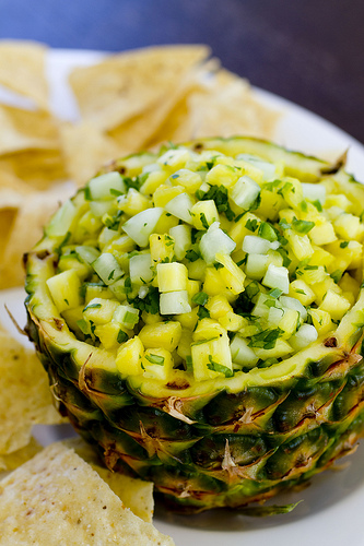Pineapple Salsa | Luau Recipes