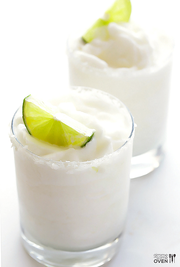 Coconut Margarita | Luau Recipes