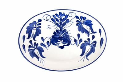 Clasico Serving Platter by Azulina Ceramics on Table + Dine