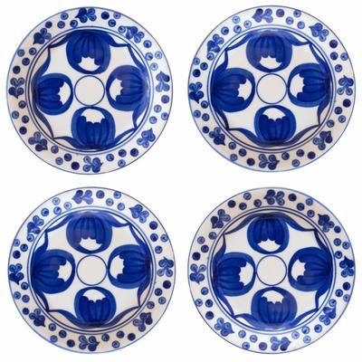 Carmen Appetizer Plates by Azulina Ceramics