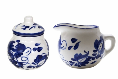 Clasico Sugar & Creamer Set by Azulina Ceramics