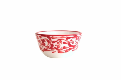 Rojo Mini Spice Bowls by Azulina Ceramics