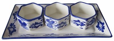 Clasico Trio Platter by Azulina Ceramics